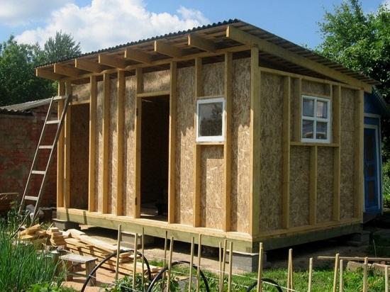 Быстро и с наименьшими затратами хозяйственный блок для дачи можно изготовить по каркасной технологии. Несмотря на простоту постройки хозблок для дачи из дерева может прослужить не один десяток лет.